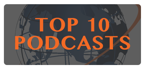 Top 10 Podcasts button