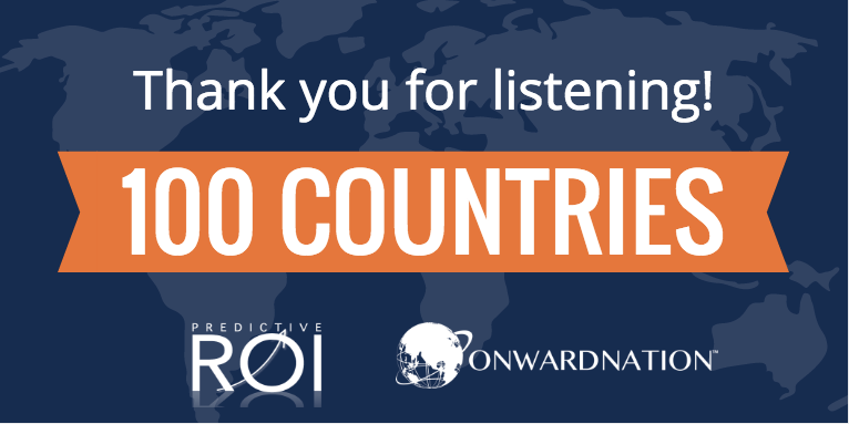 Thank you for listening to Onward Nation in over 100 countries!
