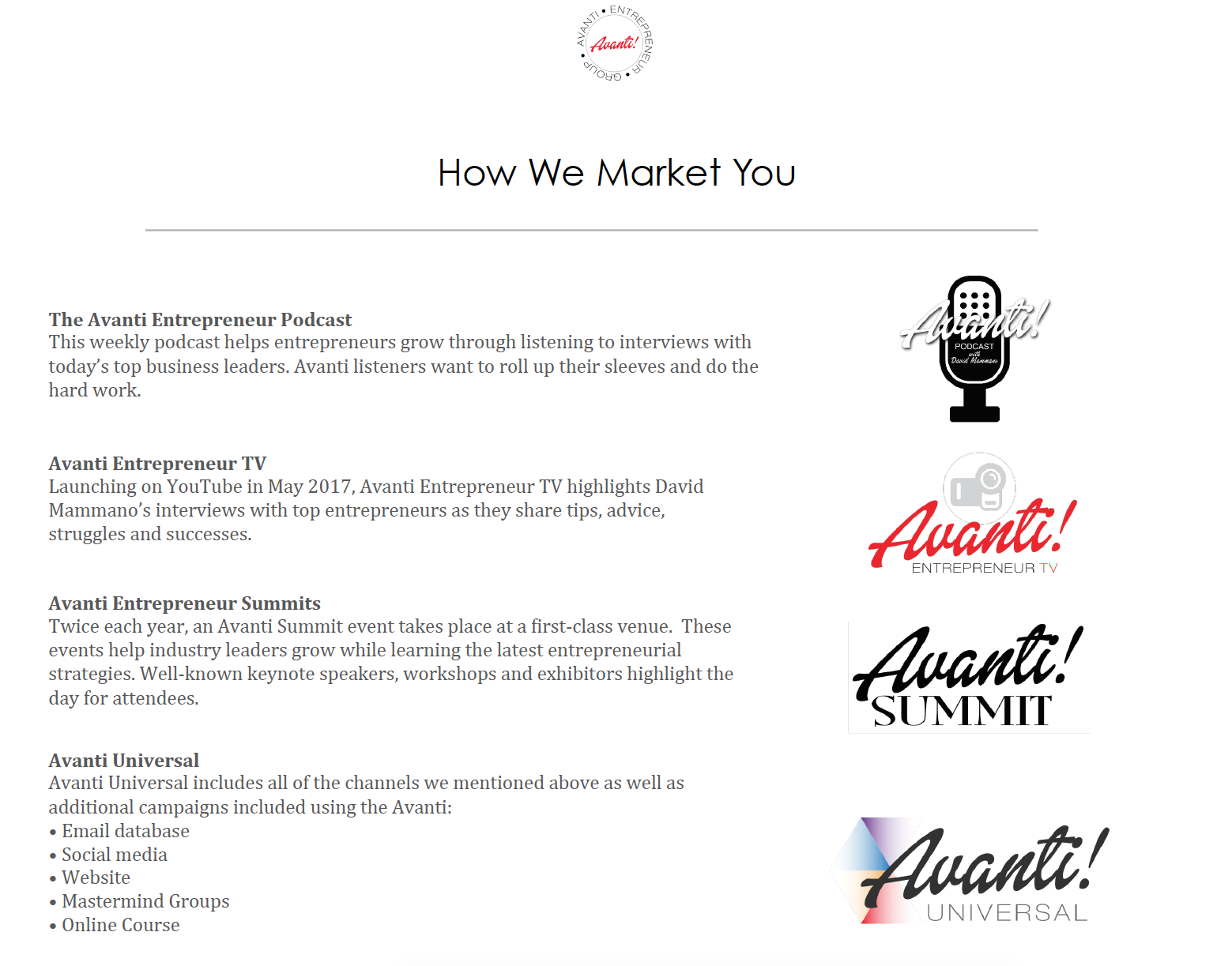 Podcast Sponsorship Recipe: How We Market You