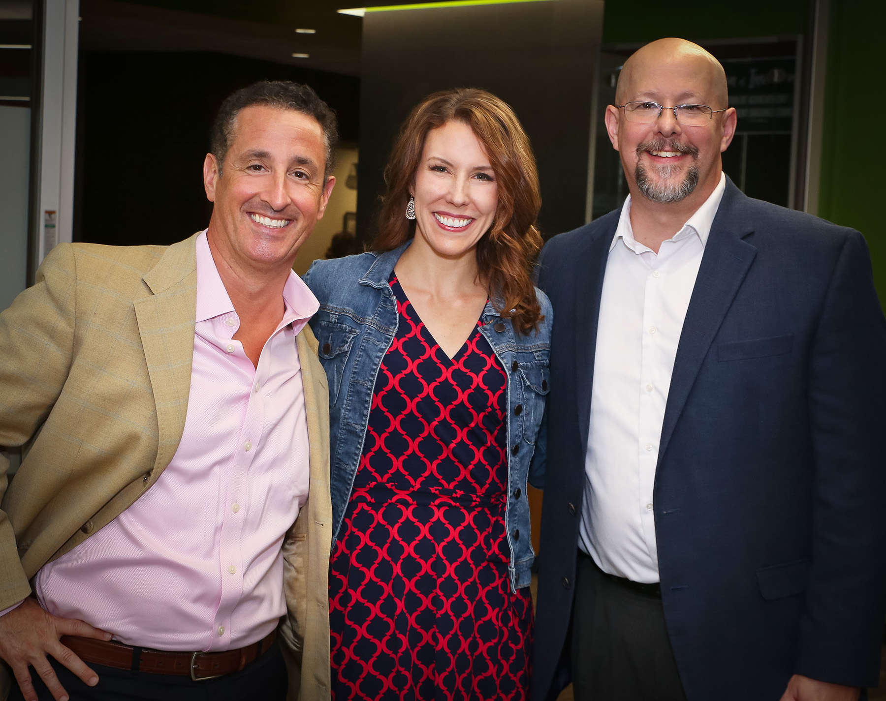 Stephen with Misty Lown and David Mammano, host of the Avanti Entrepreneur podcast which Predictive ROI is honored to produce.