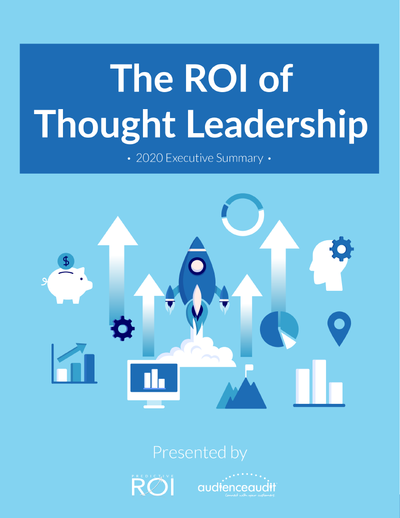 The ROI of Thought Leadership